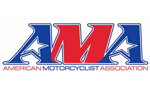 Stylized letters A-M-A; American Motorcyclist Association logo